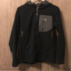The North Face Black Fleece Hoodie Jacket